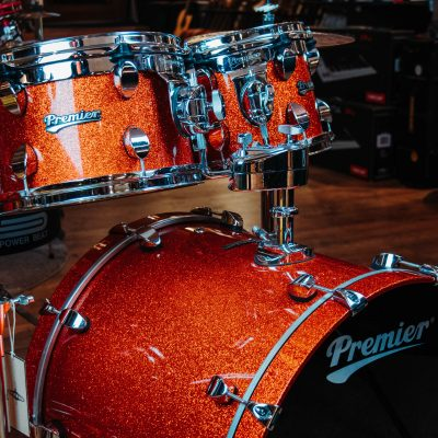 מערכת תופים Premier Orange sparkle