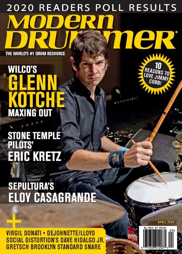 Modern Drummer April 2020